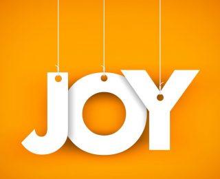 JOY LIVES IN THE SIMPLEST OF THINGS