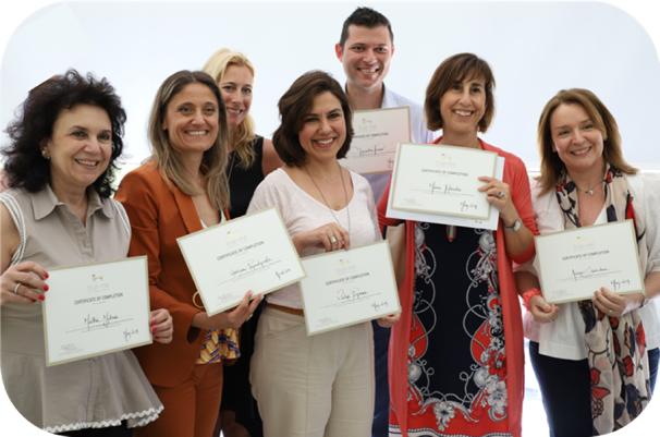 Η πρώτη σειρά Coaches της True-me Breakthrough Coaching  Academy αποφοίτησε!  Συγχαρητήρια!